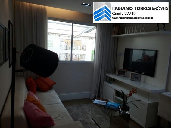 Apartamento A Venda Em São Bernardo Do Campo, Tiradentes, 2 Dormitórios, 1 Banheiro, 1 Vaga - Colours