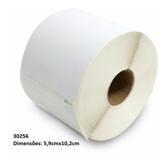 Etiqueta 5,9x10,2cm 1rl C/300un 30256 Compatível Lw450 Dymo