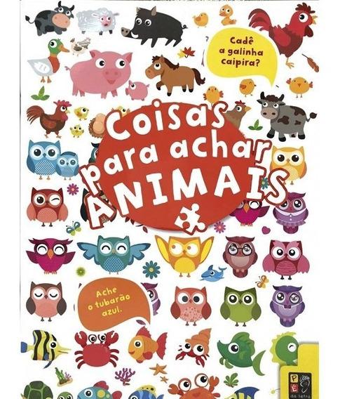Livro Coisas Para Achar - Animais