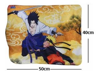 Naruto Funda De Almohada Sasuke Katana Kunai