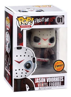 Funko Pop Jason Voorhees 01 Friday The 13th Chase Glow