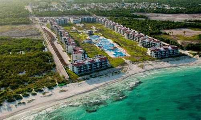 Precioso Departamento Con Vista Al Mar Caribe