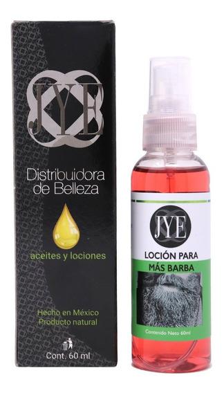 Locion Jye Crecimiento Barba Premium Concentrado 2 Meses