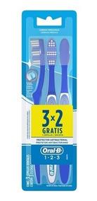 Escova Dental Oral-b 123 Médio 40 Leve 3 Pague 2