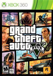 Gta 5 Grand Theft Auto V Xbox 360 Juego Cd Blu-ray Nuevo Original Físico Sellado En Stock Entrega Inmediata