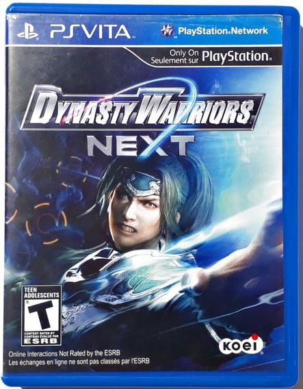 Jogo Dynasty Warriors Next Playstation Vita Ps Vita Frete Grátis
