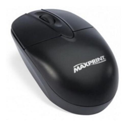 Mouse Usb Optico Grande 800dpi Preto - Maxprint 60597-3