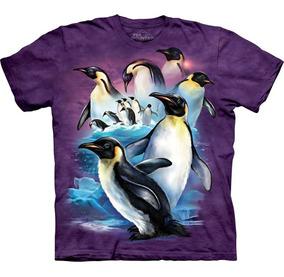 Playera 4d - Unisex Infantiles - 3422 Penguins.
