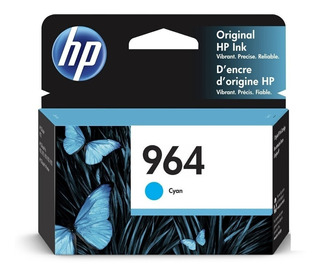 Cartucho Hp 964 Cian 3ja50al Original 9010 Officejet Pro