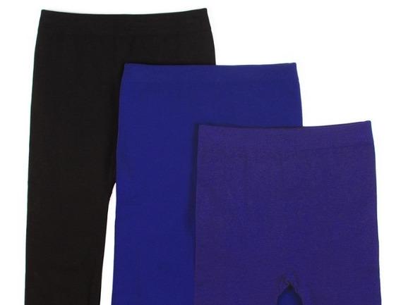 3 Leggins Mallas En Colores Abbey Muse