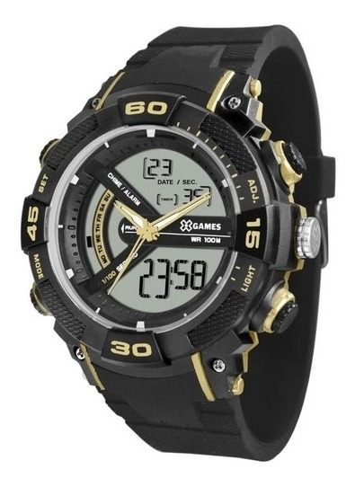 Relógio X Games Masculino Ref: Xmppa280 Bxpx Esportivo