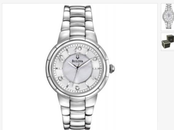 Relógio Bulova Feminino Quartz C8691057c Sem Uso