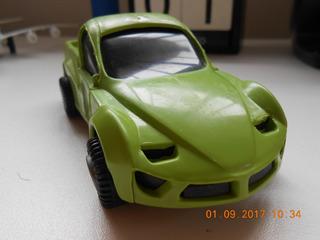 Miniatura Carro Suv Verde - Com Carroceria - Lembrancinha
