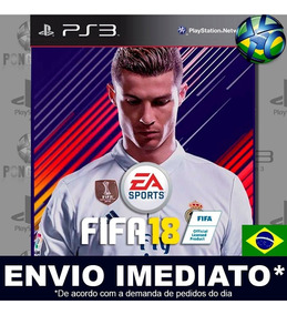 Fifa 18 Fifa 2018 Jogo Ps3 Digital 100% Português Brasil