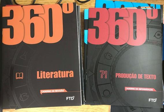 27 Livros Didáticos Ensino Médio Coleção Ftd 360 + 2 Brindes