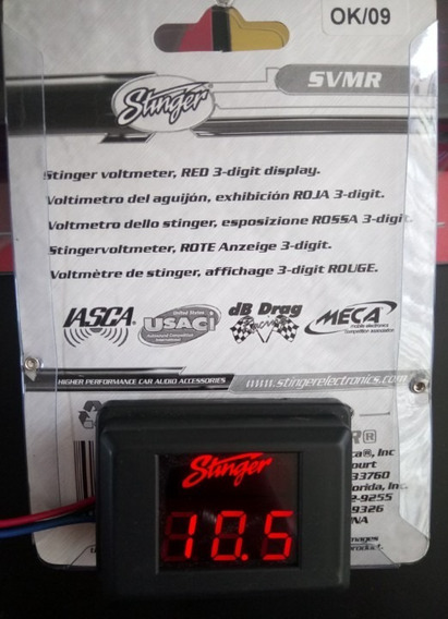 Voltimetro Digital Stinger en Mercado Libre México