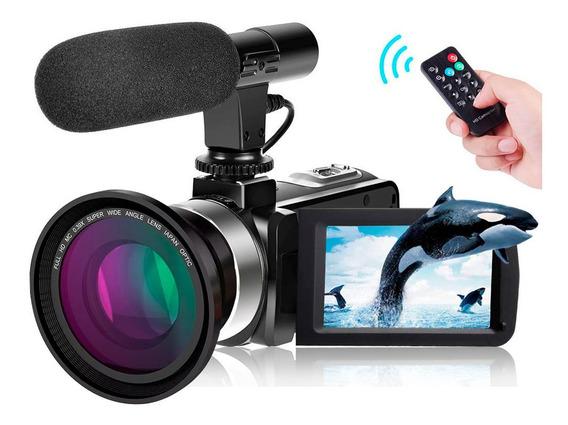 Videocamara Vak 809 Microfono Nocturna 24mp Touch Hdmi Sd