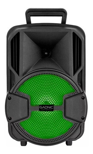 Parlante Gadnic Live Studio Xbs10 Portátil Con Bluetooth Negra