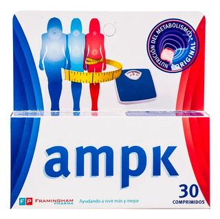 Ampk X 30 Comp Adelgazar Activando Metabolismo Descenso Peso