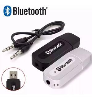 2 Receptor Bluetooth Usb Áudio Stereo Transmissor P2 Músicas