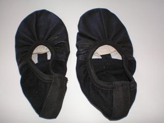 Zapatillas De Danzas Clásicas Nº 36 Negras