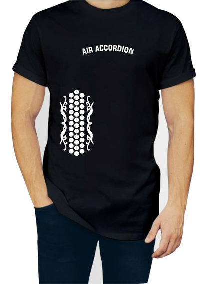 Playera Air Accordion Acordeon Aire Hombre 1 Pza C/envio