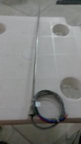 Termopar Tipo J, Haste Inox 5x500mm, Rosca Processo 1/4bsp