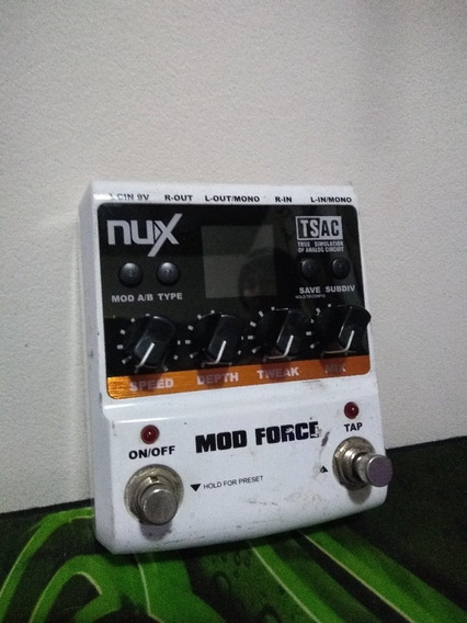 Pedal Nux Mod Force Delay