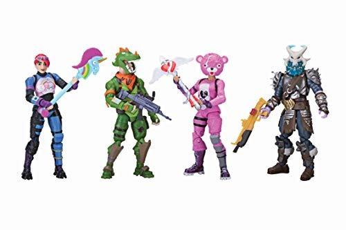 Fortnite Squad Mode 4 Pack De Figuras