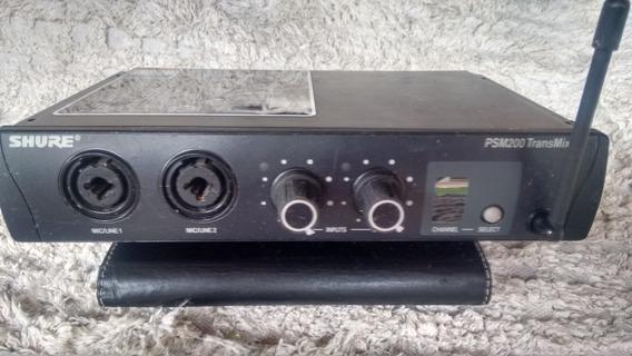 Base Monitor In Ear Shure Psm 200 Leia A Descrição
