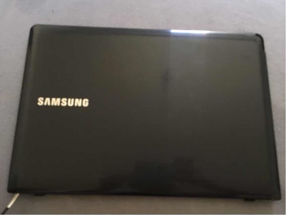 Carcaça Tela Samsung Np275e4e Com Rachadura