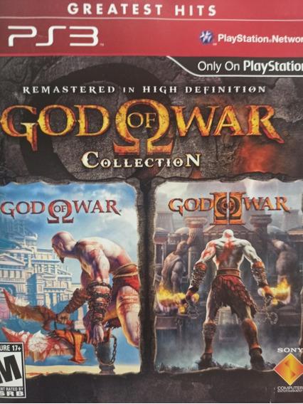 God Of War Collection Ps3 Original , A Pronta Entrega