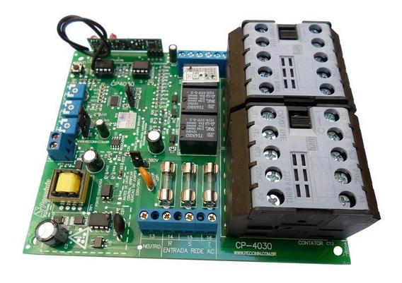 Central Placa Eletrônica P/ Motor Portão Cp4030 Peccinin