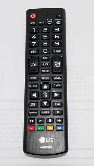 Controle Remoto LG Akb74475448 100% Original Semi Novo