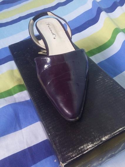 Zapatos Stiletos Talle 37 Vintage