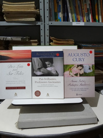 3 Livros Augusto Cury Dez Leis Para Ser Feliz E Outros