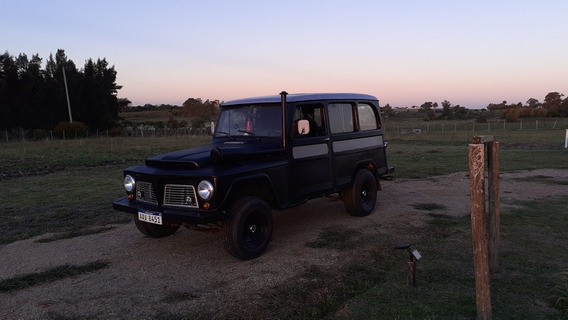 Willys Ford Willys Rural Añ