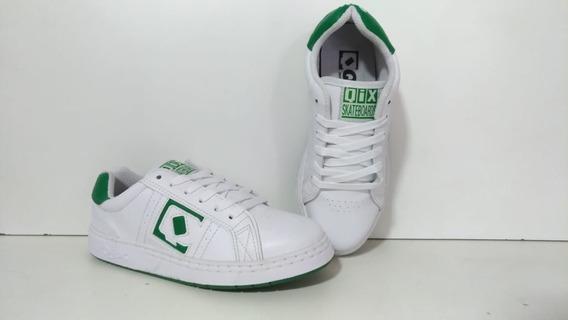 Tênis Qix Combat Retro - Branco/verde Lançamento