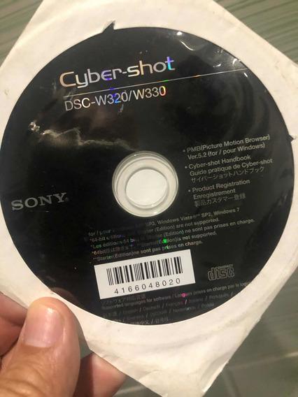 Cd De Instalação Original Sony Cyber-shot Dsc-w320/w330