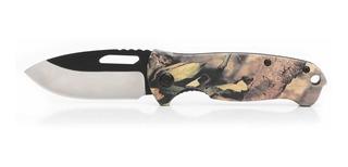 Canivete Camuflado Ozark Trail Pesca Camping Militar