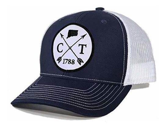 Homeland Tees Mens Indiana Arrow Patch Camo Trucker Hat