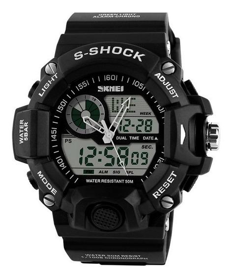 Relógio Skmei S Shock Digital Led Militar Esportivo