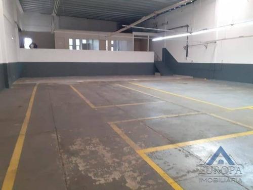 Barracão Para Alugar, 494 M² Por R$ 6.000,00/mês - Waldemar Hauer - Londrina/pr - Ba0020