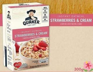 Avena Cereal Instantánea Varios Sabores