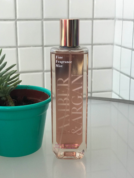 Perfume Bath And Body Works Amber & Argan