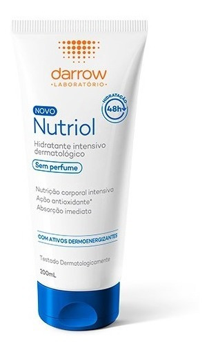 Loção Hidratante Darrow Nutriol Sem Perfume 200ml