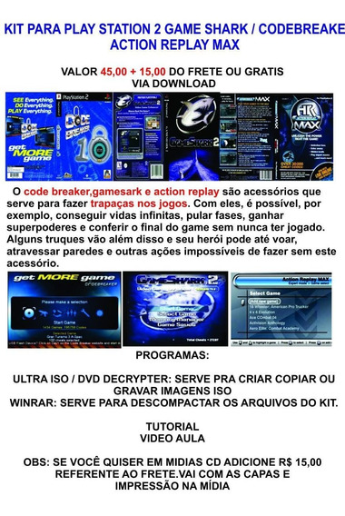 Game Shark Ps2 - PlayStation 2 no Mercado Livre Brasil