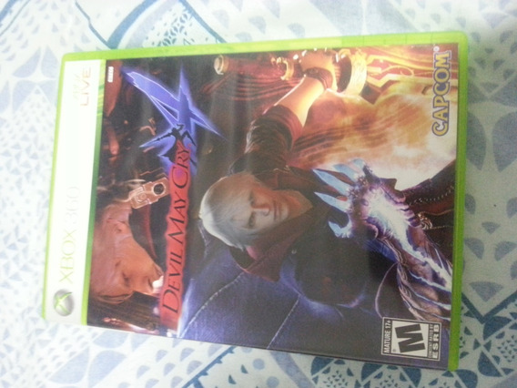 Devil May Cry 4 Xbox 360 Mídia Física Original