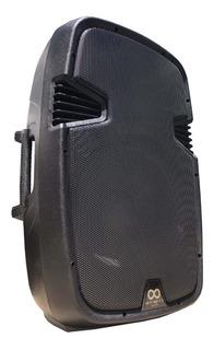 Bafle Amplificado! Woofer 15, Bt 300w Rms Usb Potenciado