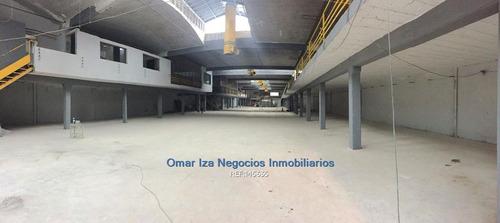 Iza. Local Industrial Deposito Galpon Comercial Recomendado